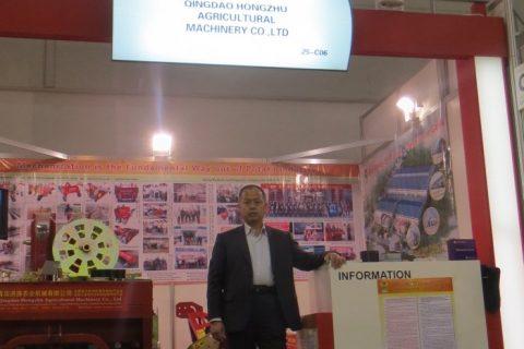 国际农业机械展(德国),我公司总经理吴洪珠携产品参加展览展示。