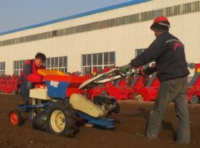 最新上市小型马铃薯种植机,适合山地丘陵作业。
