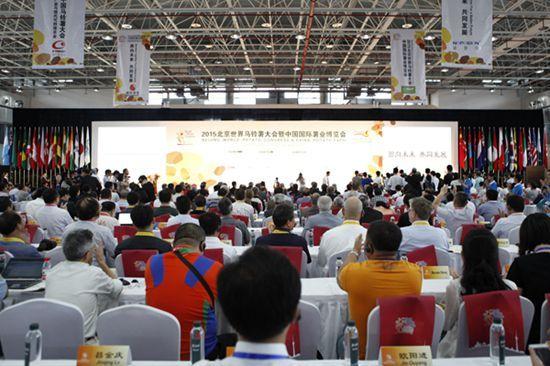 16  2015北京世界马铃薯大会现场