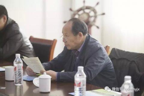 中国农业大学教授白人朴一行到青岛洪珠农机调研并做了专题报告