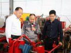 农业农村部农机化司李伟国司长莅临青岛洪珠参观指导工作